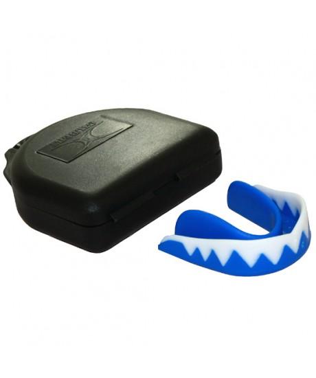 Protège dents requin Gilbert bleu senior