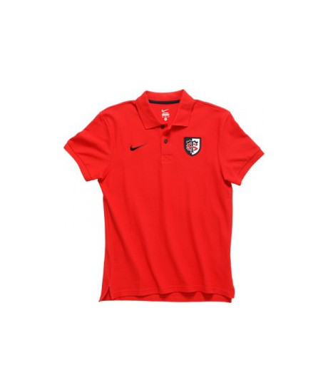 Polo Nike Rouge Stade Toulousain