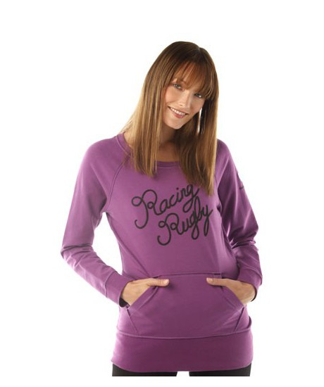 Sweat Racing Rugby femme violet