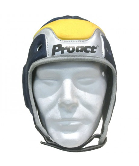 Casque de Rugby Pro Act Navy Yellow