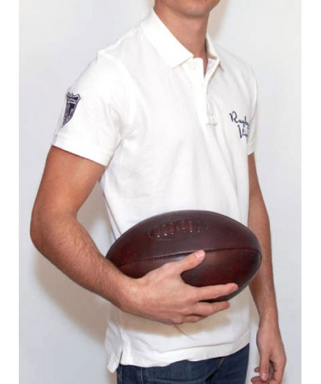 Polo Rugby & Vintage Blanc