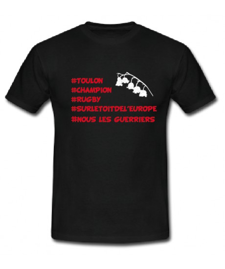 """Tee shirt Lol Rugby """"Toulon champion"""""""