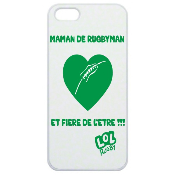 coque smartphone maman de rugbyman esprit rugby. Black Bedroom Furniture Sets. Home Design Ideas