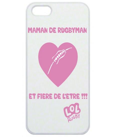 """Coque Smartphone """"Maman de Rugbyman"""""""