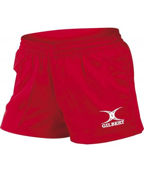 Short de rugby Saracens Gilbert rouge