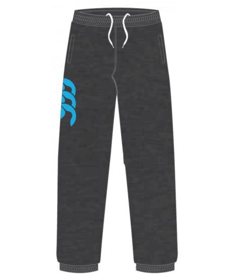 Bas de jogging molleton Canterbury Gris foncé/bleu Malibu