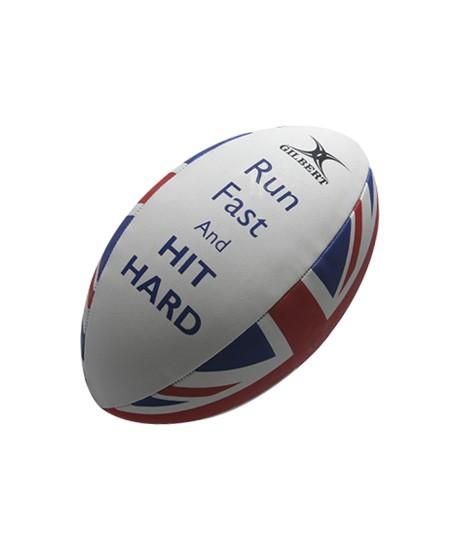 Ballon rugby Gilbert Supporter HIT HARD