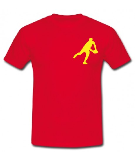 "Tee shirt Junior ""Essentiels"" Rouge"