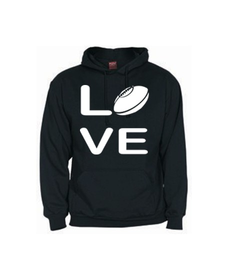 Sweat Love Rugby noir