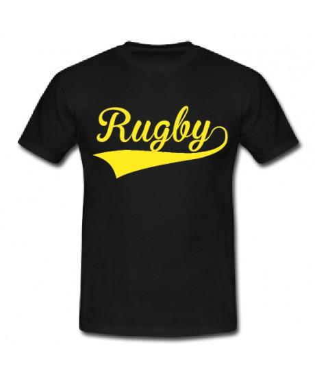Tee shirt Rugby Noir