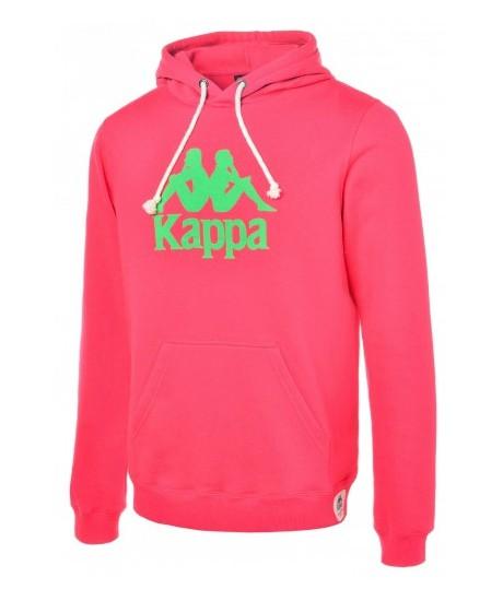 Sweat capuche Kappa Rugby Line Lavagno Fuschia