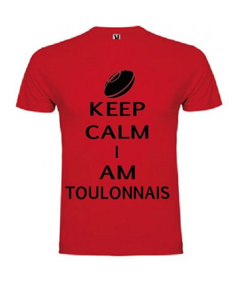 Tee Shirt Keep Calm I Am Toulonnais