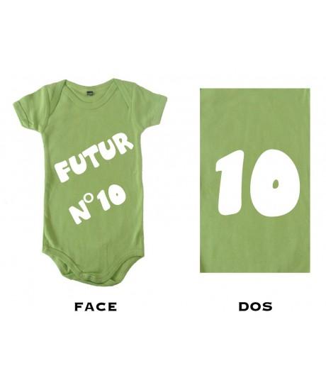 Body bébé Futur N°10