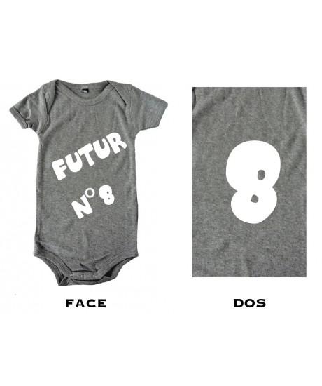 Body bébé Futur N°8