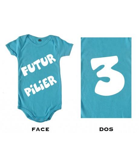 Body bébé Futur Pilier 3