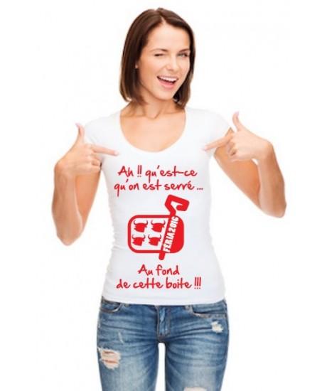 Tee Shirt femme Sardines Féria 2019