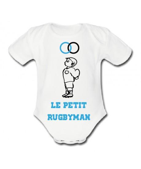 """Body Le Petit Rugbyman """"Anneaux"""""""