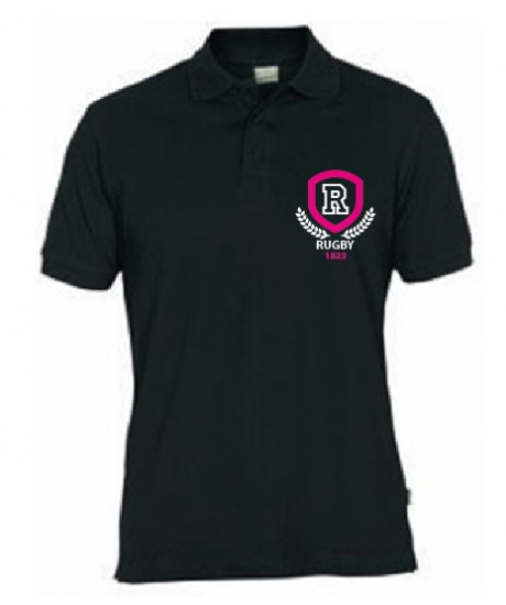Polo Rugby Laurier Noir