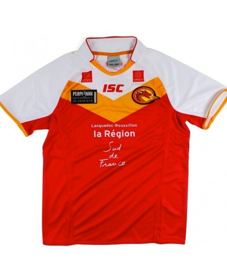 Maillot rugby à XIII Dragons Catalans
