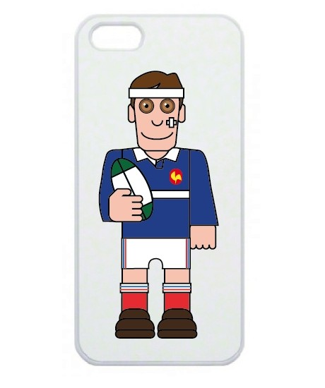 Coque smartphone Rugby France Pixel