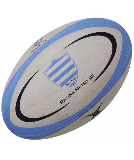 Ballon rugby Gilbert Réplica Racing Métro