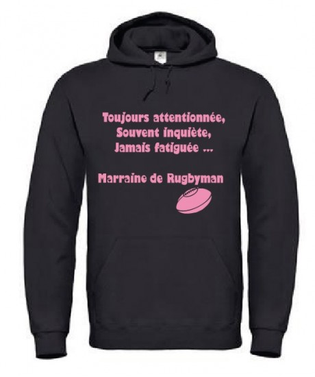 Sweat Marraine de Rugbyman