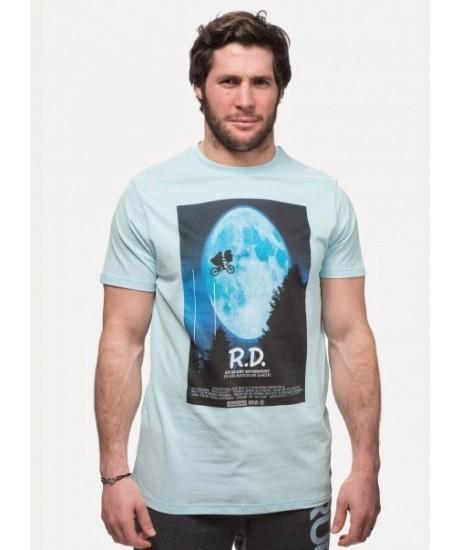Tee Shirt Rugby Division R.D. bleu ciel