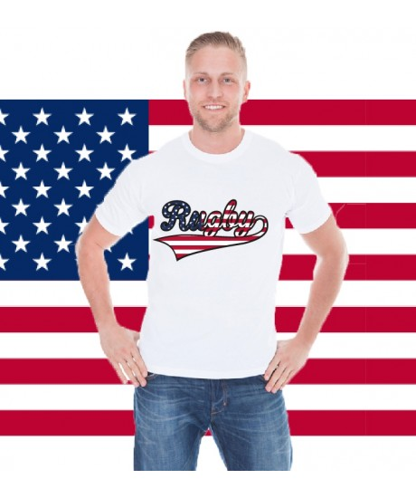 Tee Shirt Rugby Originals Stars and Stripes