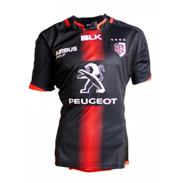 maillot blk stade toulousain 2015 2016 domicile esprit rugby. Black Bedroom Furniture Sets. Home Design Ideas