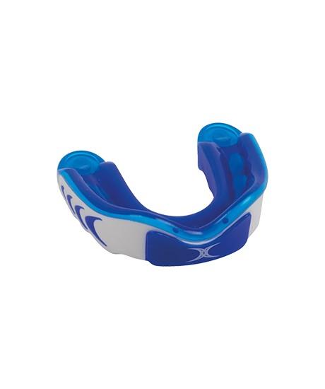 Protège dents Gilbert Virtuo Triple Density Bleu / Blanc