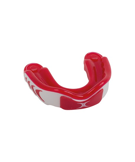 Protège dents Gilbert Virtuo Triple Density Rouge / Blanc