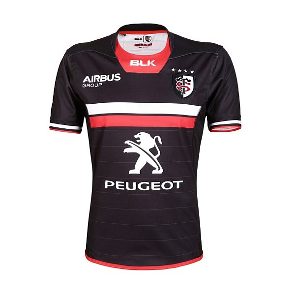 maillot blk stade toulousain 2016 2017 home esprit rugby. Black Bedroom Furniture Sets. Home Design Ideas