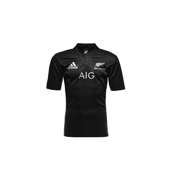 maillot all blacks noir 2015 esprit rugby. Black Bedroom Furniture Sets. Home Design Ideas