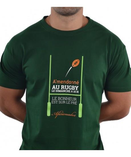 "Tee shirt Aficionados ""15H"" Vert"