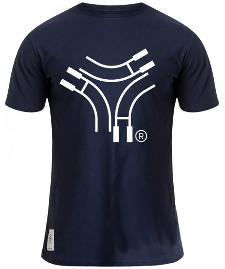 "Tee Shirt Rugby Division ""EFFECT"" Bleu Marine"