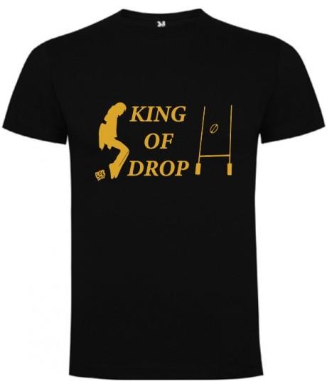 "Tee shirt LoL Rugby ""King of Drop"" Noir"