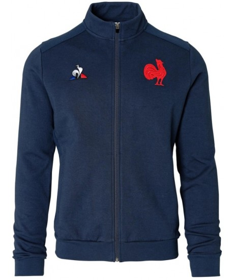 SWEAT ZIPPE Le Coq Sportif  XV DE FRANCE 2019-2020