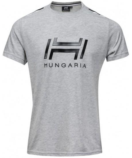 T-SHIRT HUNGARIA BROOKS HOMME GRIS