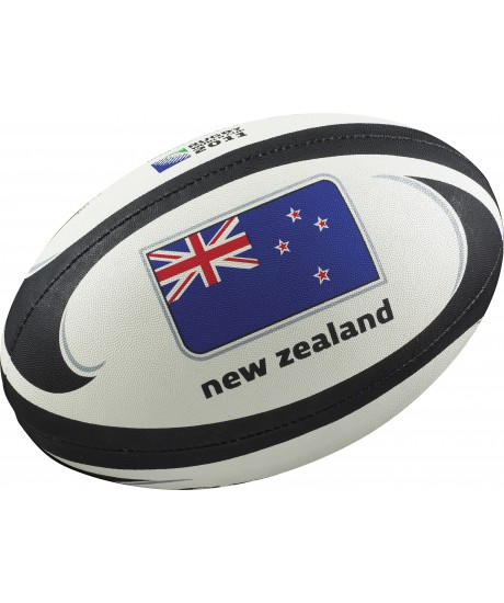 Ballon rugby Gilbert flag New Zealand