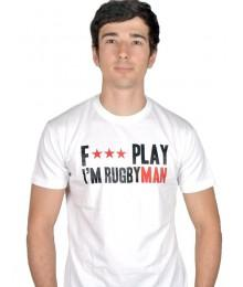 "Tee shirt Aficionados ""Fair Play"" Blanc"
