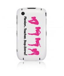 "Coque Iphone 3 "" Flexion """