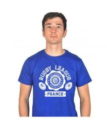 Tee shirt Ultrapetita League France Bleu