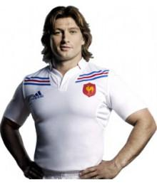 Maillot France replica extérieur Blanc Junior