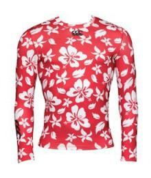 Baselayer Canterbury Hibiscus Rouge