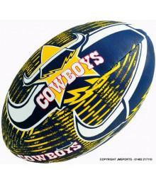 Ballon rugby Steeden supporter Cowboys