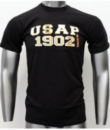 Tee shirt USAP Errea noir junior