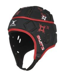 Casque Gilbert Attack Noir / Rouge