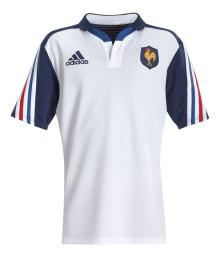 Maillot Junior Adidas XV de France 2014 blanc