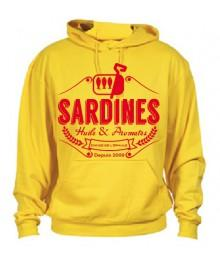 Sweat Sardines 2 Jaune