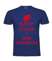 Tee Shirt Keep Calm I Am Grenoblois